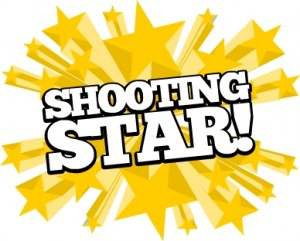 The Shooting Star Award for Good Rides, Shows and Attractions!